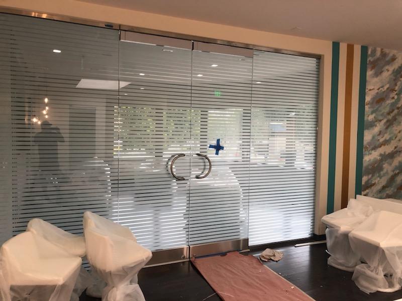 privacy office decorative window film